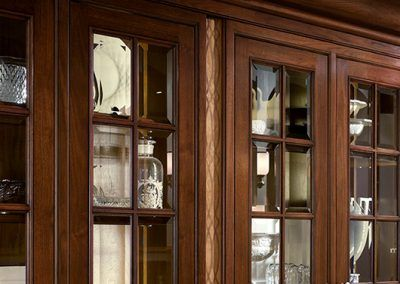 Clear Glass Door Display Cabinetry