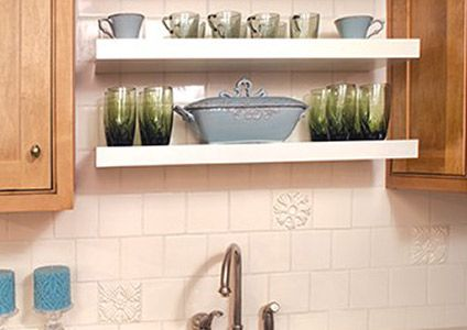 Drawer Units, Shelves, Countertop Supports