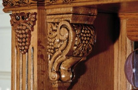 Small Grape Corbel