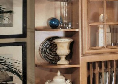 Decorative Open Shelving