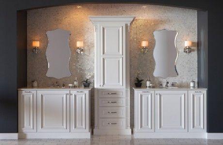 Metallic His & Her Sinks