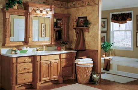 Sink with Maple Cupboards