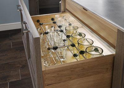 Glassware Drawer