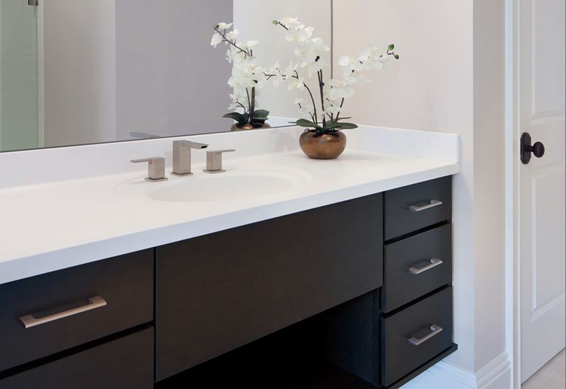Black Floating Bathroom Vanity