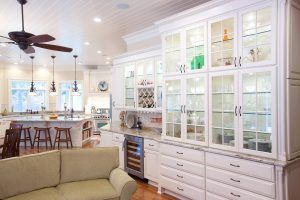 Custom Glass Cabinetry