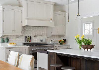 Custom Hood in Kitchen