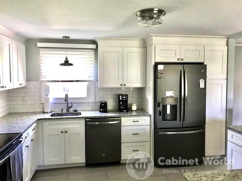 Split Level Kitchen Design Cabinet World Of Pa