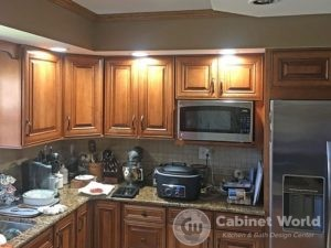 Refaced Kitchen Cabinets