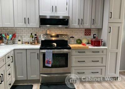 Light Gray Kitchen Cabients