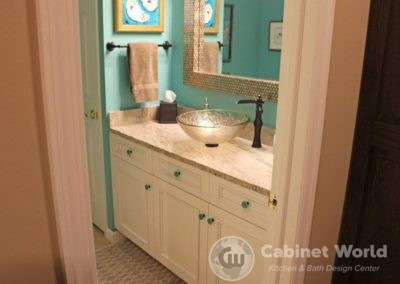 Basement Bathroom Design by Mary Ann Rau