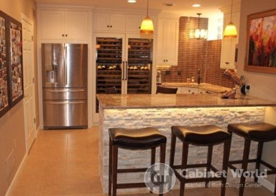 Basement Kitchen by Mary Ann Rau