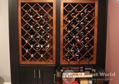 Wine Cellar Design with Storage