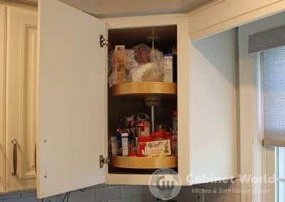 Corner Cabinet Storage Solution