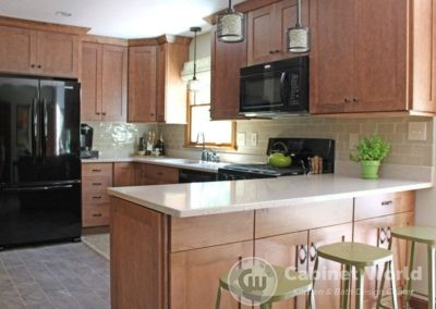Kitchen Cabinet Refacing by Mary Ann Rau