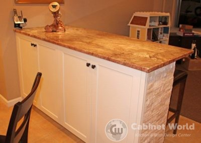 Basement Kitchen Counter Bar