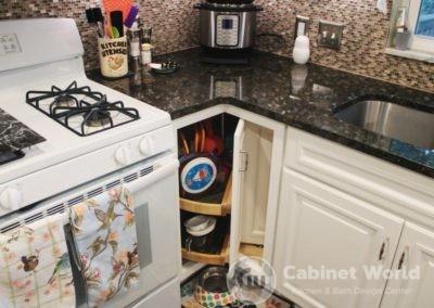 Lazy Susan Cabinet