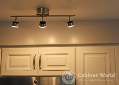 Overhead Lighting in Kitchen Remodel