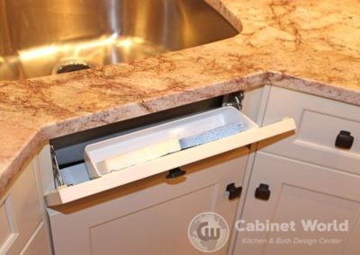 Sink Front Tip Out Tray