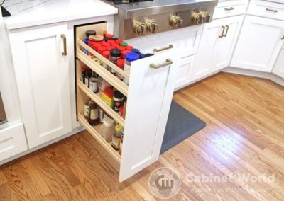 Kitchen Storage Spice Cabinet