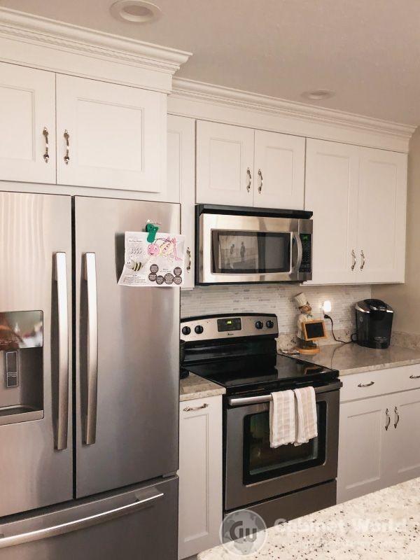White Cabinets Kitchen Design by Kristen Murphy
