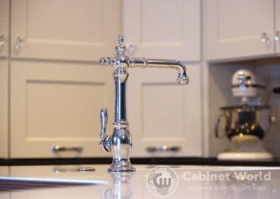 Retro Chrome Kitchen Faucet
