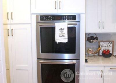 Kitchen Design Stacked Ovens