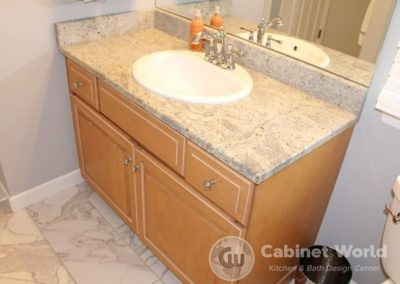 Stained Single Vanity