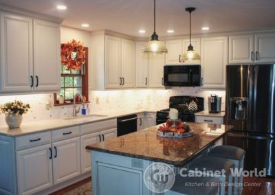 Kitchen Design in Cranberry by Pam Pechalk