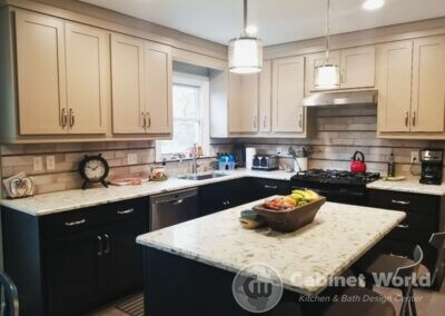 Kitchen Design in Cranberry by Mindy Mohney