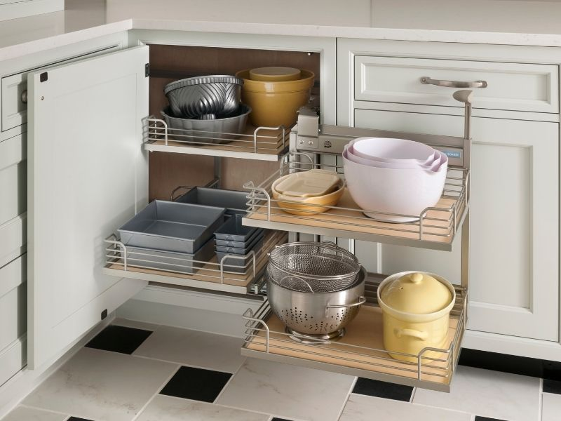 Creative Storage Solutions for the Kitchen