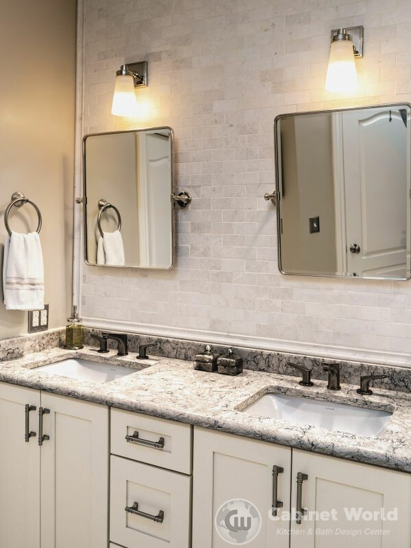 Modern Bath Design in Sewickley by Charo Hunt